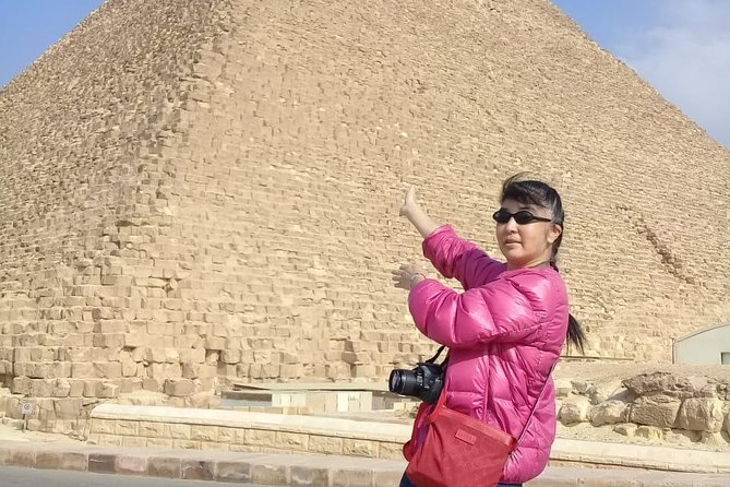 Giza pyramids ,sphinx & old Cairo from Cairo Giza hotel with expert guide photo 8