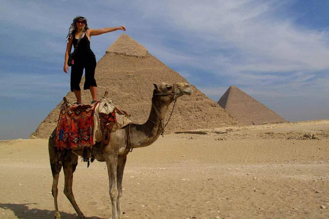 Giza pyramids sphinx sakkara memphis from Cairo Giza hotel with expert guide