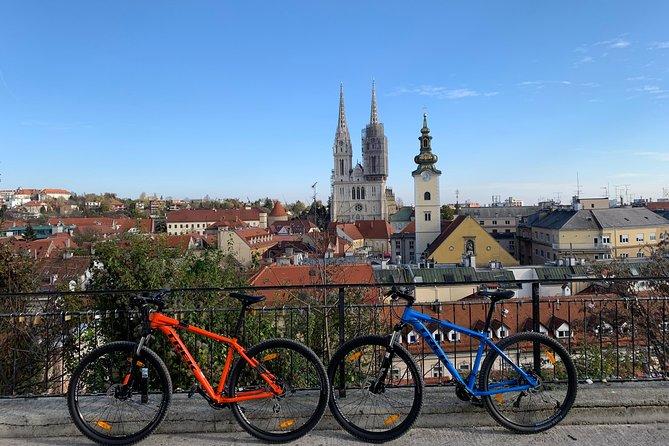 Scopri Zagabria in mountain bike con una guida locale - Tour per piccoli gruppi