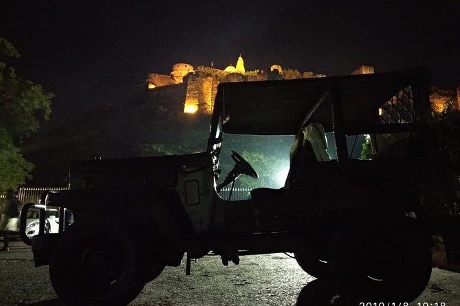 Night Tour in Open Jeep