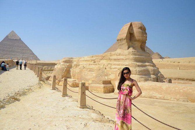 Giza pyramids ,Egyptian museum & market from Cairo Giza hotel with expert guide