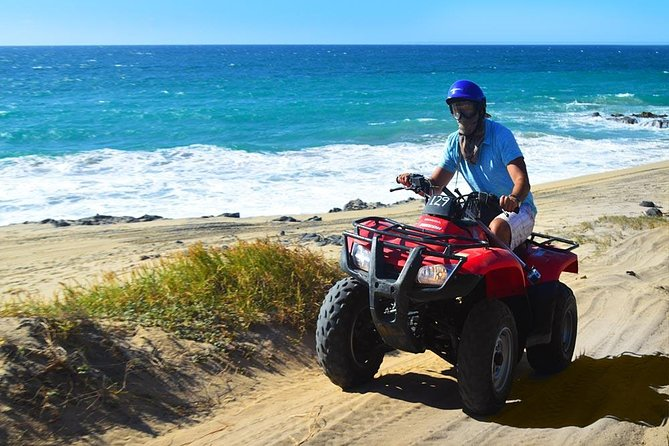 Single or Double ATV Beach & Desert Tour