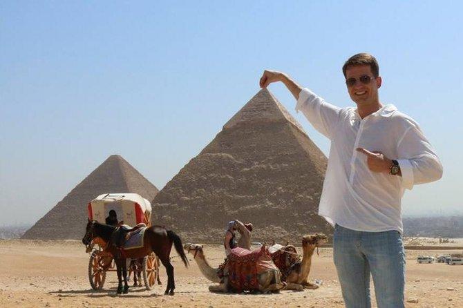 Giza pyramids, sakkara, Memphis& Dahshur from Cairo Giza hotel with expert guide