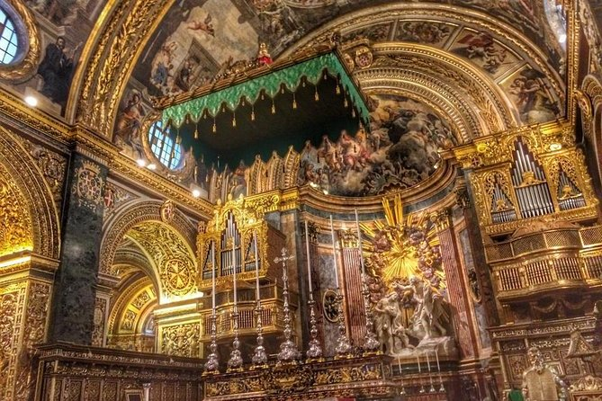 Valletta City Walking Tour with St. John's Co-Cathedral