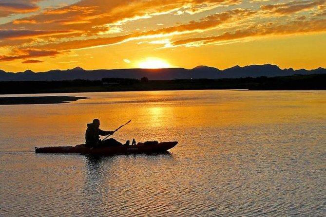 Midnight Sun Kayaking Adventure by Mt. Kirkjufell
