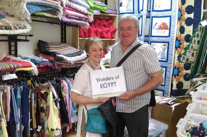 Day Tour To Coptic Cairo, Saint Simon Monastery & Recycling Center.
