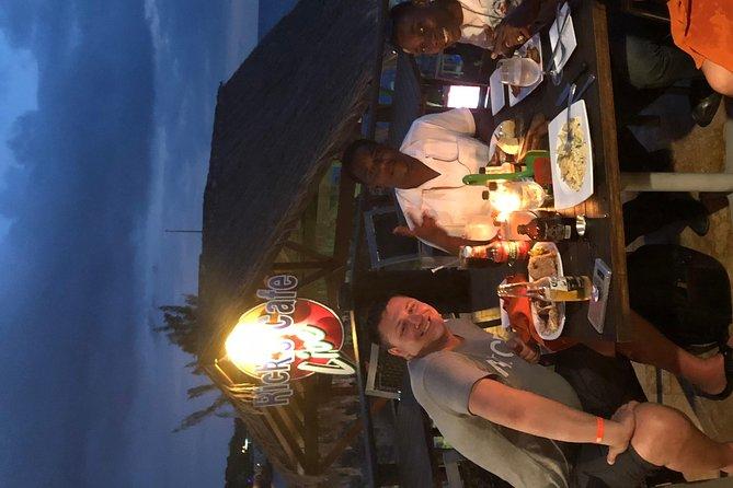 Ricks Cafe after sunset engagement dinner