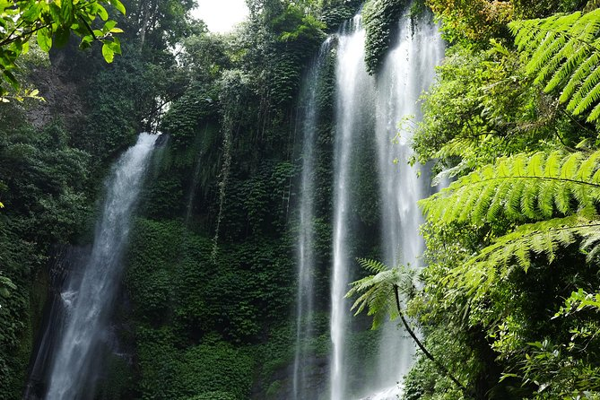 Sekumpul Waterfalls Hiking Tour with Ulun Danu Bratan Temple