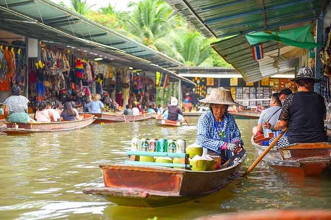 Viagem diurna para os Mercados Flutuantes saindo de Bangcoc