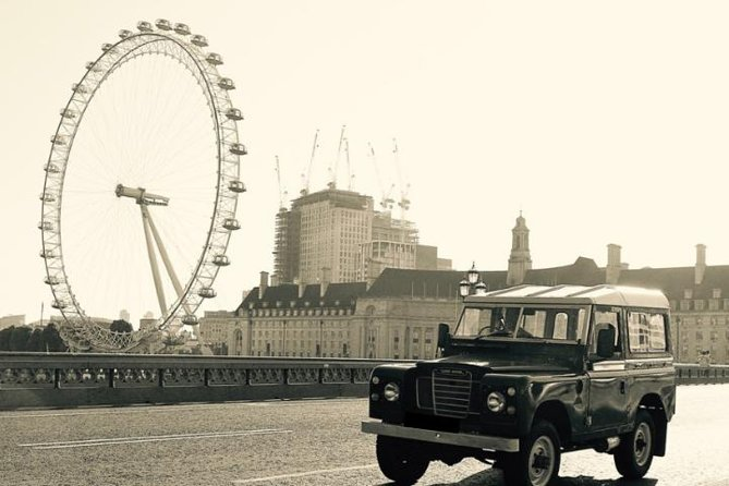 London Tour in a Classic Land Rover