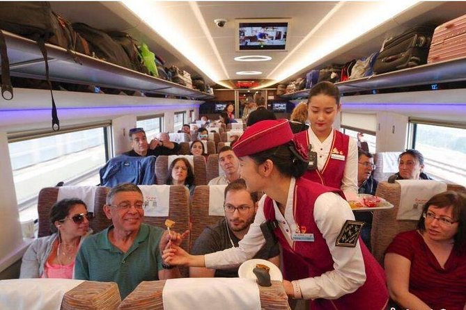 Xian to Luoyang Bullet Train Ticket with North Railway Station Transfer