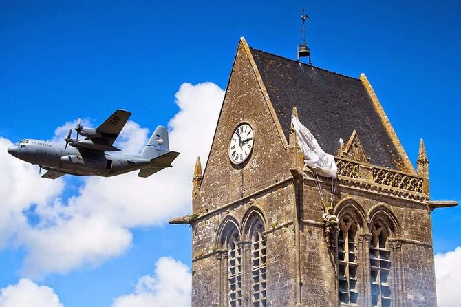 Paris - Normandy D-Day landing beaches - Full day American sector private tour