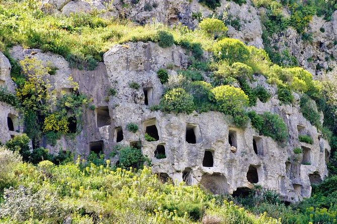 Rotsachtige necropolis van privétour door Pantalica