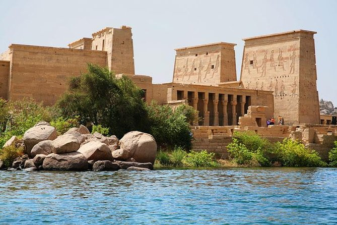 Aswan:Private Guided Tour to High Dam, The Obelisk & Philae Temple by Boat