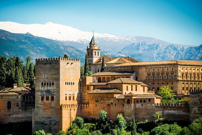Private Alhambra Palace and Generalife Gardens Tour From Malaga