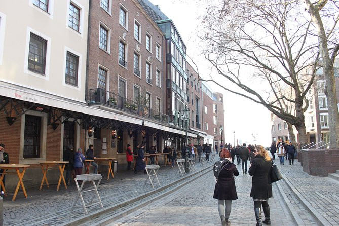 Top 10 attractions walking tour of Dusseldorf