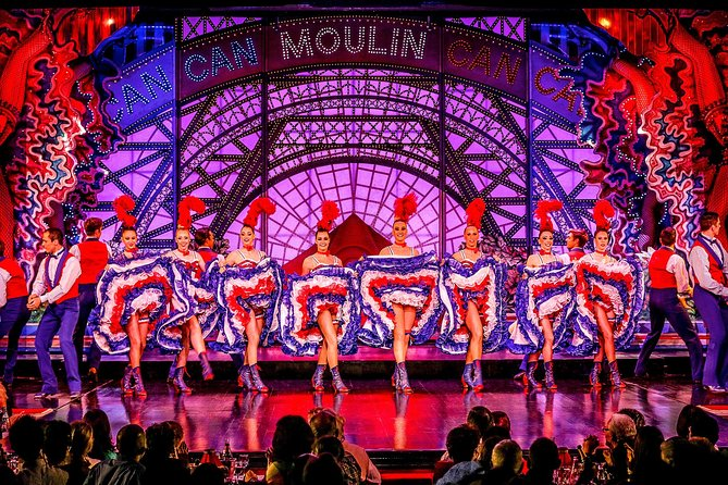 Dinner and Show at the Paris Moulin Rouge with Transport