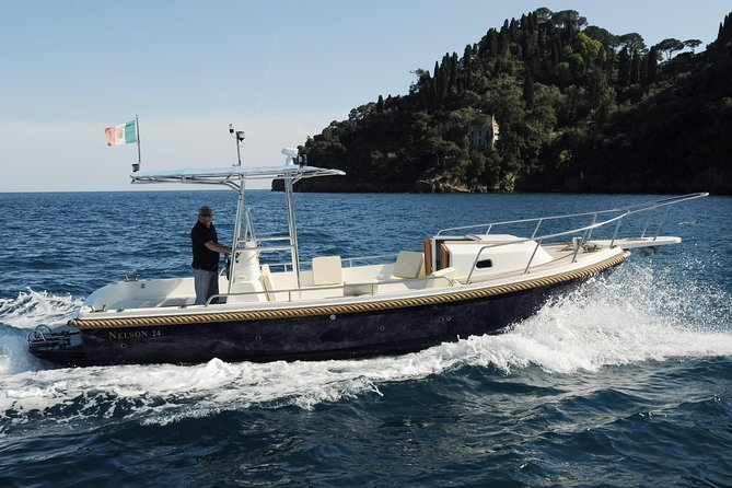 Portofino private boat tour