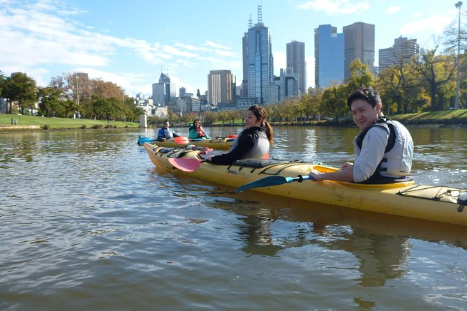 Melbourne City Afternoon Kayak Tour