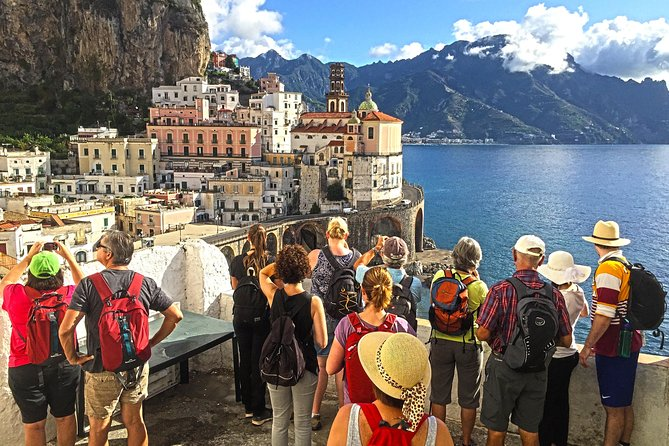 Private walking tour of Amalfi & Atrani hamlets discovering amazing landscape