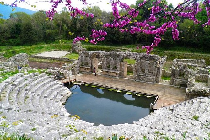 Butrint Antic City (UNESCO) and Saranda Sightseeing tour !
