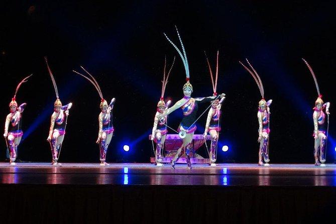 Din Tai Fungmiddagsupplevelse och Acrobatics Show i Shanghai