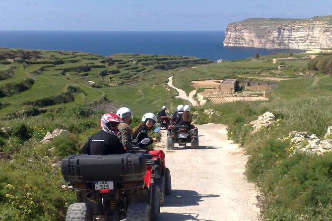 Gozo Half Day Quad Tour w/ Private Boat to Gozo (to avoid queuing)