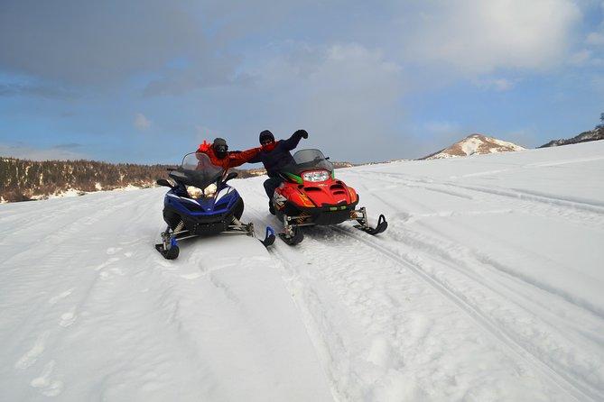 Snowmobiling in Tsaghkadzor