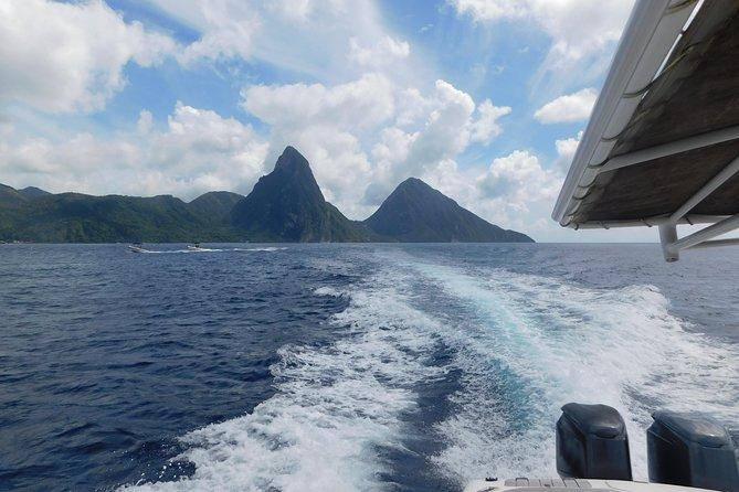 Pitons Land and Sea All inclusive Tour