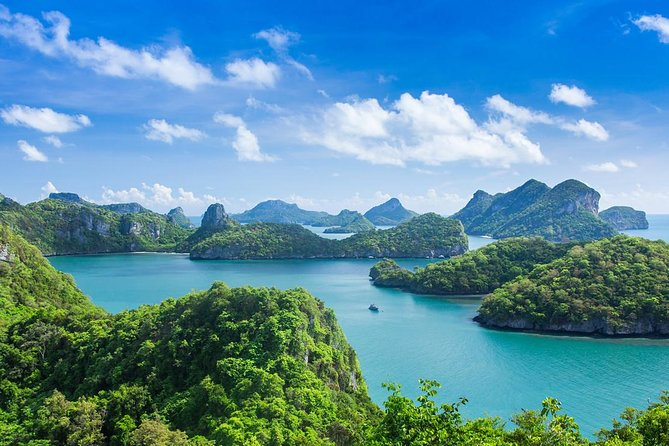 One day trip to Angthong Marine Park by big boat