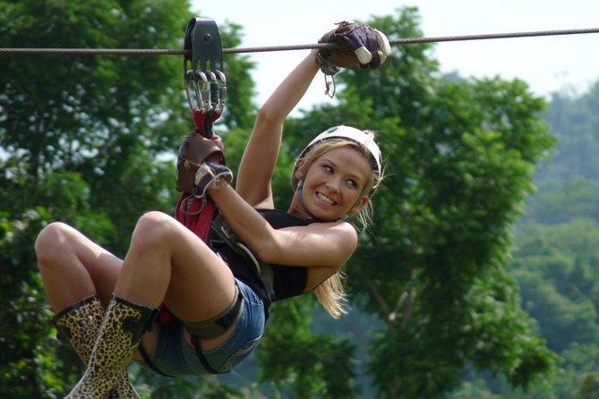 Half-Day Zipline Ride on Koh Samui