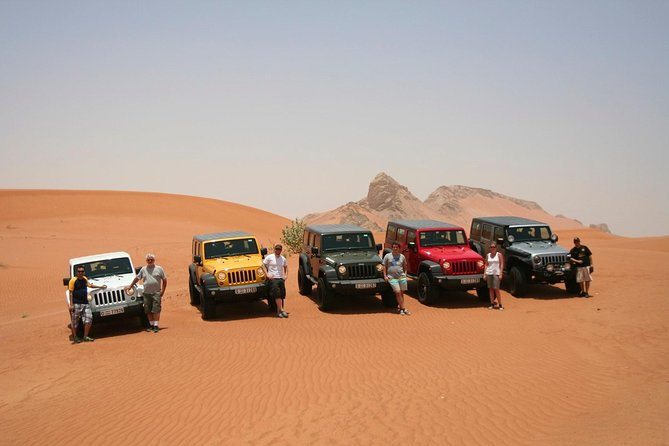 Dubai Self-Drive 4WD Desert and Dune Bash Safari