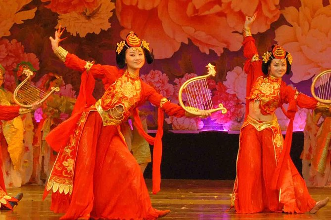 Skip the Line:Xi'an Tang Dynasty Music & Dance Show Ticket with Dumpling Banquet