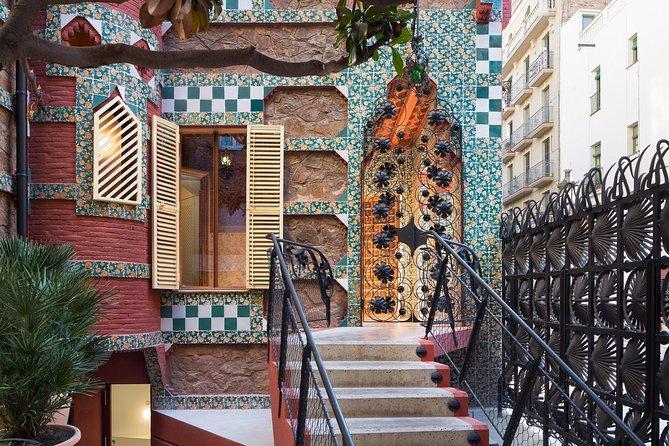 Casa Vicens rondleiding: Vroege ochtend toegang met voorrang - het eerste huis van Gaudí