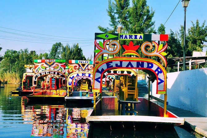 Frida Kahlo and Xochimilco