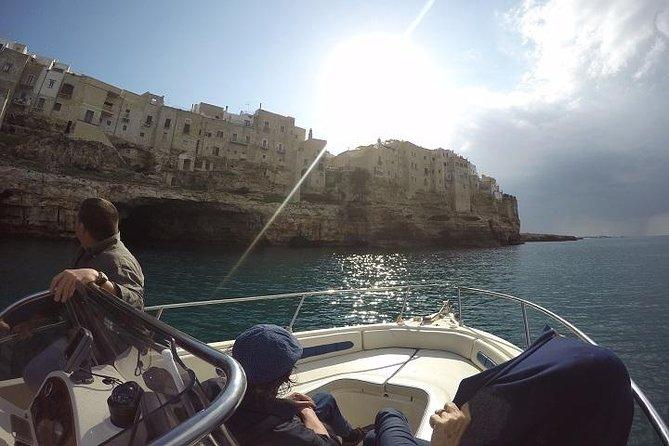 Polignano a Mare Caves Boat Trip from Polignano, Bari or Brindisi
