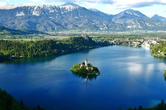 Shared Group Tour to Lake Bled & Ljubljana from Koper