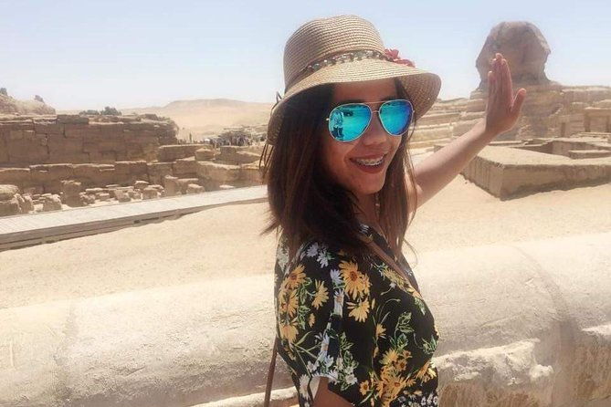 Private Half-Day tour to Giza Pyramids sphinx with Camel-Riding