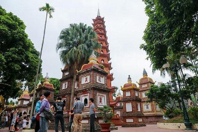 Hanoi halvdages bytur med vietnamesisk frokost