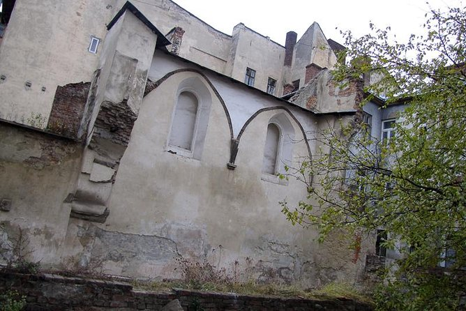 Ruins of the Golden Rose Synagogue
