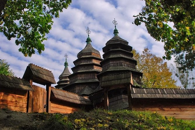 Excursión de 3 horas al museo al aire libre de Shevchenkivskyi Hai desde Lviv