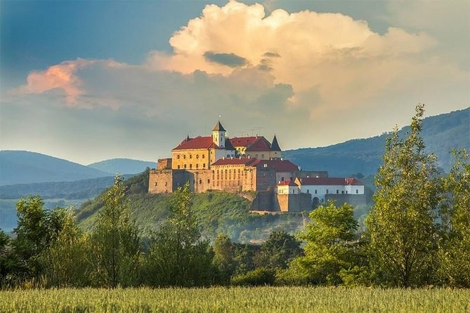 Mukacheve from Lviv including Palanok Castle and Castle Shenbornov Private Tour