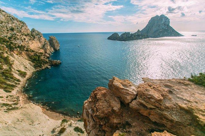 Navegando pelas praias do sul de Ibiza