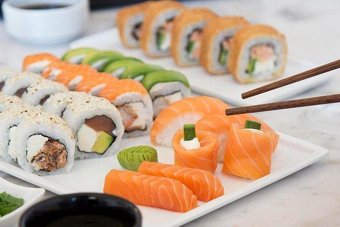 Dinner at 'Mizuki sushi' and 'Rojo Tango show'
