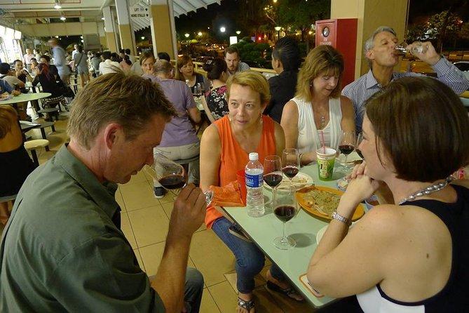 Hawker Wine Safari in Maxwell Food Centre