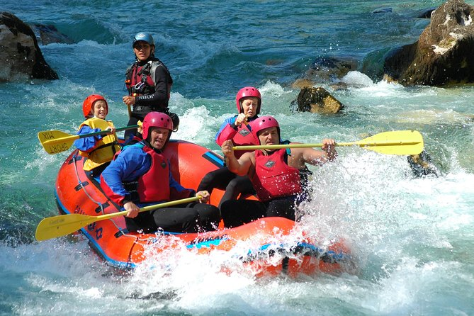 Whitewater Rafting on Soca River