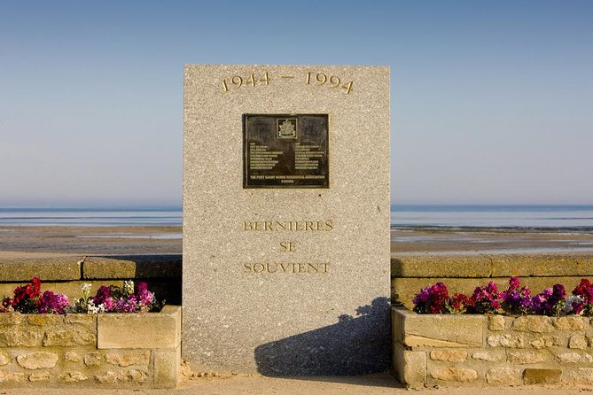 Le Havre Shore Excursion: Private Day Tour to Juno Beach Sector & Ardenne Abbey
