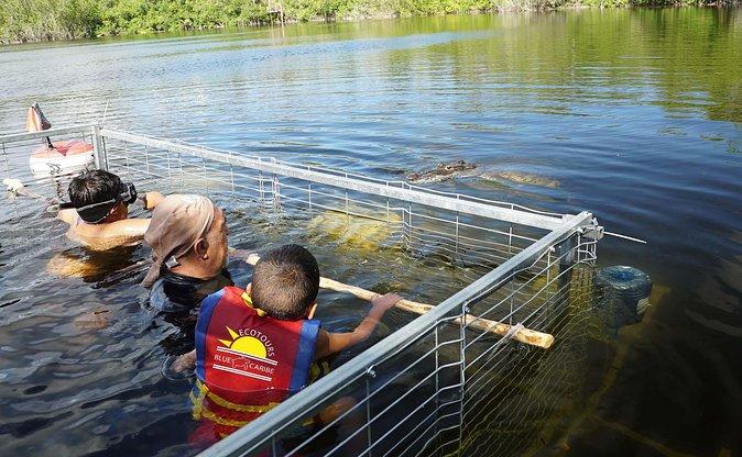 Swim with Crocodiles and Visit a Mayan Community