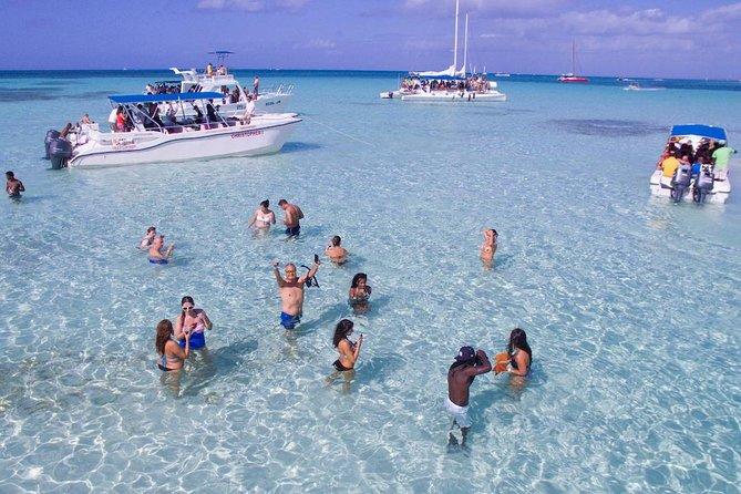 Excursão pela Ilha de Saona de catamarã ou lancha