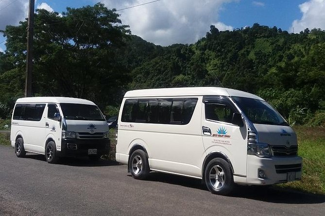 Fiji Marriott Resort to Nadi Airport & Denarau Resorts-Private Minibus(1-12Seat)